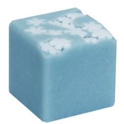 kostka do kąpieli Płatki śniegu