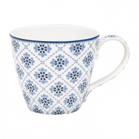 KUBEK oona blue H: 9,5 cm.