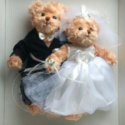 Misiowa Para Ślubna (Wedding Pair) Bukowski Design