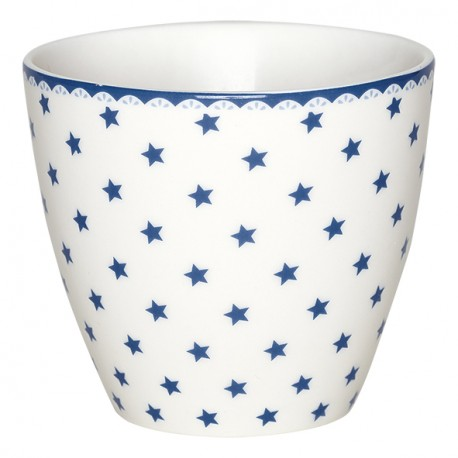 Latte kubek Small star indigo