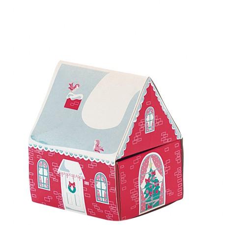 zapałki Bożonarodzeniowy Domek