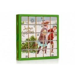 Kalendarz adwentowy Joyous - 25 piramidek