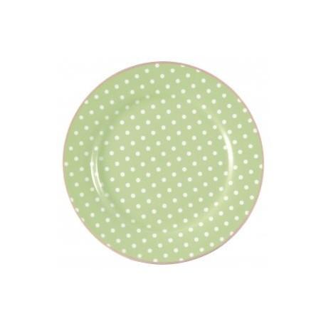 talerz Spot Pale green 20cm