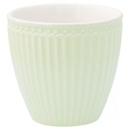 kubek latte Alice Pale Green
