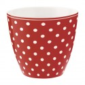 kubek latte spot red