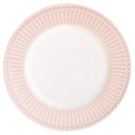 talerz mały alice pale pink 17cm