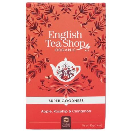 herbata super goodness z jabłkiem i cynamonem