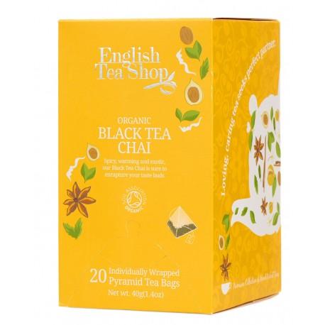 herbata Black Tea Chai 20 piramidek