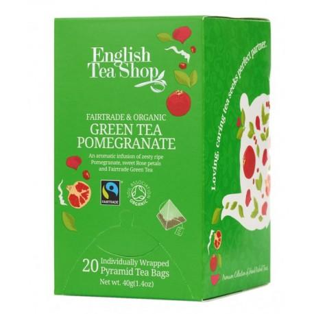 herbata Green Tea Pomegranate 20 piramidek