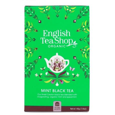 herbata mint black tea 20 saszetek