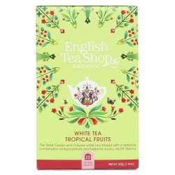 herbata white tea tropical fruits 20 saszetek