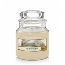 Warm Cashmere Yankee Candle Mała świeca 104g