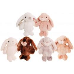 króliczek biały Bouncy Bunny Box 15cm