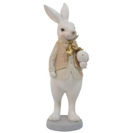 królik zając galeryjny średni 25,5cm