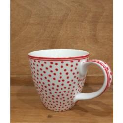 Kubek latte Dot white 250ml
