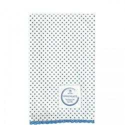 ściereczka kuchenna Spot indigo w/lace 50x70