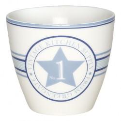 kubek latte No1 indigo